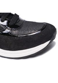 Geox Sneakersy D Airell A D152SA 022AS C9999 Czarny. Kolor: czarny