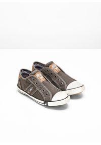 Szare buty sportowe bonprix bez zapięcia