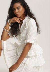Renee - Biała Sukienka Kalliliphis. Kolor: biały