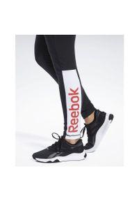 Legginsy damskie Reebok Training Essentials Linear FK6692. Stan: podwyższony. Materiał: bawełna, tkanina, materiał, elastan