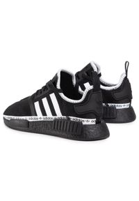 Czarne półbuty Adidas z cholewką