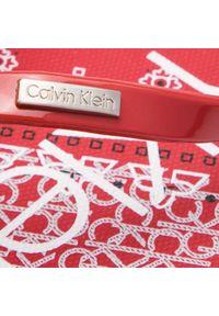 Czerwone japonki Calvin Klein