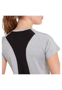 Koszulka treningowa damska Energetics 294637. Materiał: tkanina, poliester, elastan, materiał. Długość rękawa: krótki rękaw. Długość: krótkie. Sport: fitness