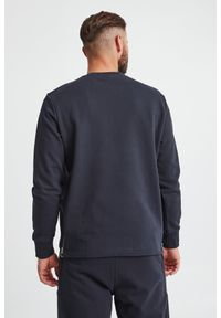 Armani Exchange - BLUZA ARMANI EXCHANGE. Materiał: bawełna. Długość rękawa: długi rękaw. Długość: długie. Wzór: haft