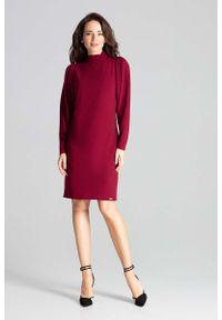Czerwona sukienka wizytowa Katrus