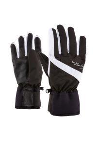 Rękawice McKinley Mastrid W 250136. Materiał: neopren, skóra. Technologia: Primaloft. Sezon: zima. Sport: narciarstwo
