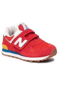 New Balance Sneakersy PV574HA2 Czerwony. Kolor: czerwony. Model: New Balance 574