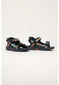 Niebieskie sandały Kappa na rzepy