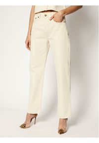 Beżowe jeansy Victoria Victoria Beckham