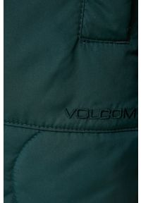 Volcom - Kurtka. Kolor: zielony. Materiał: materiał