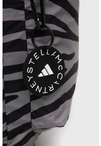 Adidas by Stella McCartney - adidas by Stella McCartney - Plecak. Kolor: szary. Materiał: poliester