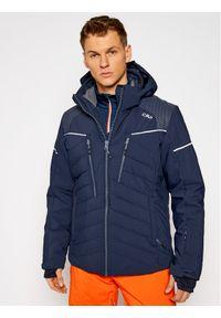 Niebieska kurtka sportowa CMP narciarska
