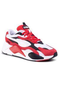 Czerwone buty trekkingowe Puma