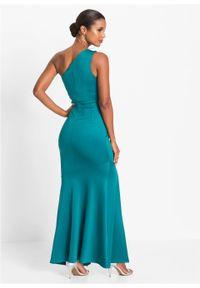 Zielona sukienka bonprix maxi