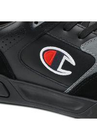 Champion - Sneakersy CHAMPION - Mz80 Low S21647-S21-KK002 Triple Nbk. Kolor: czarny. Materiał: skóra, materiał, zamsz