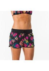 OLAIAN - Szorty Surfing Tini Tomei Damskie. Kolor: czarny. Materiał: elastan, poliester, materiał. Długość: krótkie