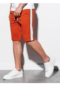 Czerwone szorty Ombre Clothing krótkie
