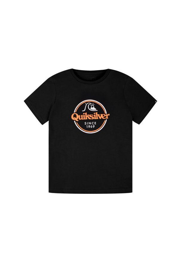 Czarny t-shirt Quiksilver