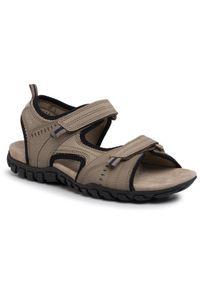Beżowe sandały Geox