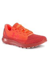 Pomarańczowe sneakersy Under Armour