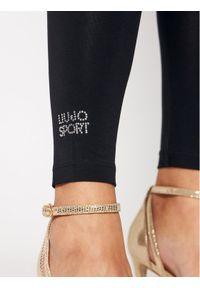 Czarne legginsy Liu Jo Sport sportowe