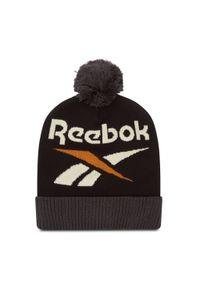 Czapka Reebok - Cl Winter Escape Beanie GD1038 Black. Kolor: czarny. Materiał: nylon, elastan, materiał, akryl, bawełna