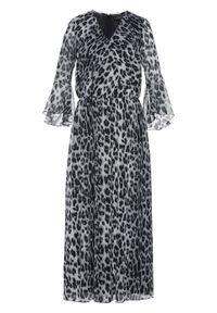 Beżowa sukienka bonprix maxi