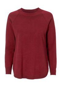 Czerwony sweter Cellbes raglanowy rękaw
