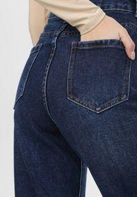 Born2be - Granatowe Jeansy Mom Fit Peargrove. Kolor: niebieski. Materiał: jeans. Długość: długie. Styl: elegancki