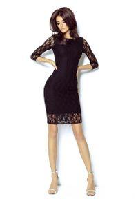 Czarna sukienka wizytowa IVON