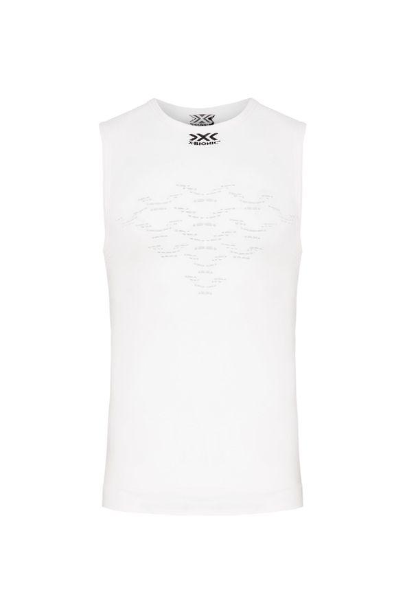 Biała koszulka termoaktywna X-Bionic bez rękawów