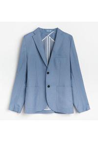 Niebieska kurtka Reserved