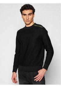 Armani Exchange Sweter 3KZM1K ZMW6Z 1200 Czarny Regular Fit. Kolor: czarny