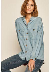 medicine - Medicine - Koszula jeansowa Western Horizons. Kolor: niebieski. Materiał: jeans