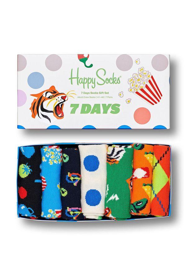 Wielokolorowe skarpetki Happy-Socks