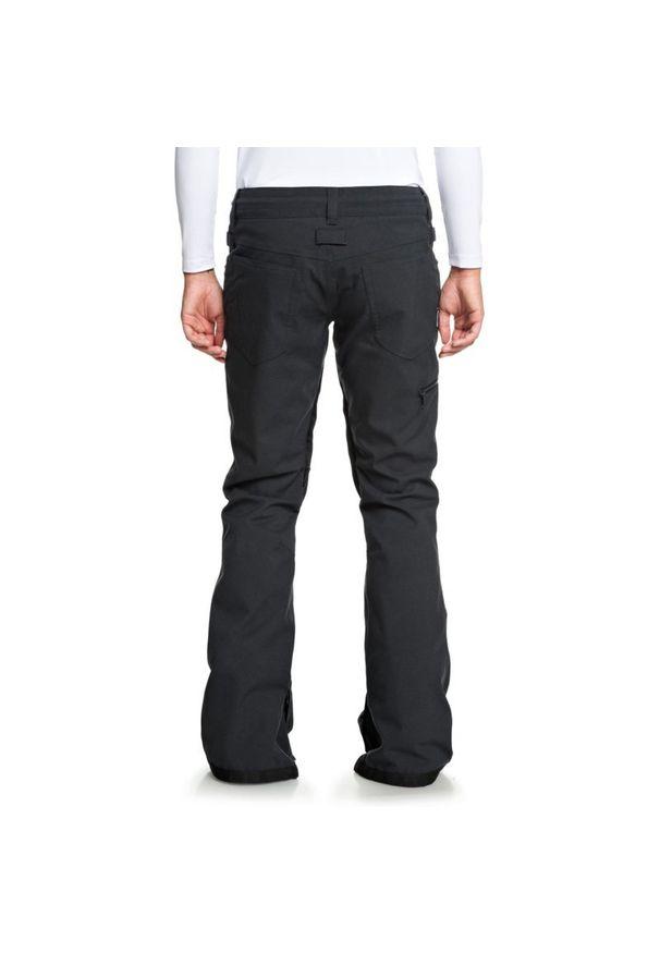 Czarne spodnie narciarskie DC