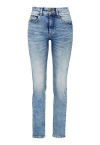Niebieskie jeansy Cellbes na co dzień, z podwyższonym stanem, casualowe