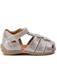 Srebrne sandały Froddo z aplikacjami