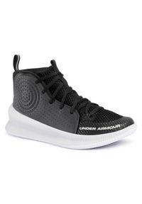 Czarne buty do koszykówki Under Armour