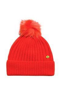 Pomarańczowa czapka Jail Jam w kolorowe wzory