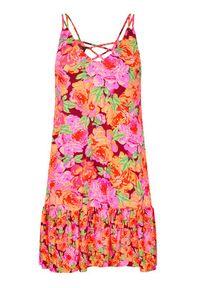 Maaji Sukienka letnia 1616CSD005 Kolorowy Regular Fit. Wzór: kolorowy. Sezon: lato