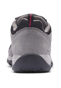 Szare buty trekkingowe columbia