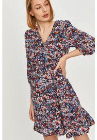Wielokolorowa sukienka Answear Lab mini, na co dzień, wakacyjna