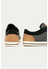 Czarne sneakersy Aldo z cholewką, na sznurówki
