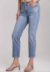 Niebieskie jeansy Renee