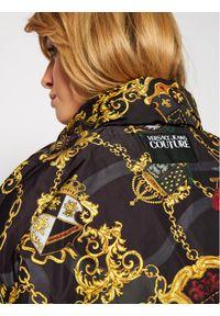 Czarna kurtka puchowa Versace Jeans Couture