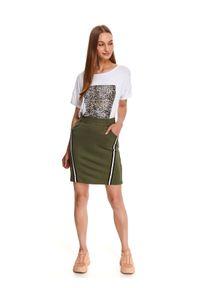 Zielona spódnica DRYWASH