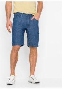 Niebieskie jeansy bonprix na lato