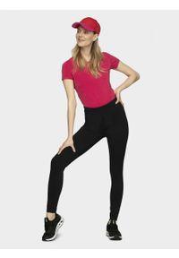 outhorn - T-shirt damski. Materiał: bawełna, jersey, elastan