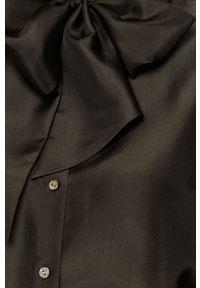 Czarna koszula Karl Lagerfeld na co dzień, casualowa